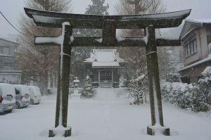 羽黒神社鳥居
